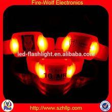 Osaka Hot Sell Event Promotion Items Yiwu Radio Control Sound Activated LED Bracelet - Glow Sticks