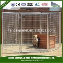 Cheap galvanized big metal dog kennel