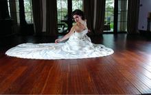 high quality Cheaper Asian Teak 100% Solid wood Tile Flooring