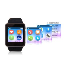 Smart watch Heart rate monitor polar support GSM phone and SOS quick dial