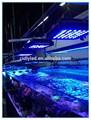 120w diodo emissor de luz para aquário de peixes tropicais vivos em água salgada/aquário diodo emissor de luz