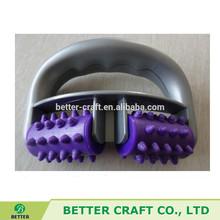 plastic handheld rubber roller massager