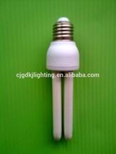 Long lifetime indoor lighting 2u 13w compact fluorescent lamp CE quality