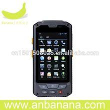 Free logo 3g gps pda rfid smart os handheld reader