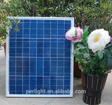 2015 top supplier portable mini solar panel 50w for air conditioner