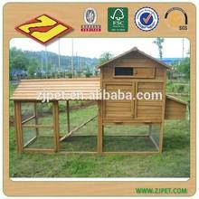 Wooden Chicken Ark With Runs DXH013
