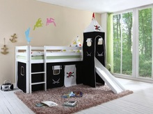 Children furniture,children bed,Bed Type and Wood Material Bed pirate
