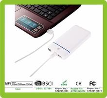10000mAh Universal power bank polymer for electronics