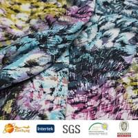 good color fastness 82% polyamide 18% elastane fabric elastic nylon fabric for swimwear