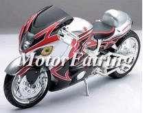 for suzuki gsxr1300 1998 fairing kit 1996-2007 GSXR1300 Hayabusa 96 97 98 99 00 01 02 03 04 05 06 07 silver black