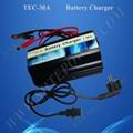 para de plomo ácido de la batería y el gel de la batería 12v 30a cargador