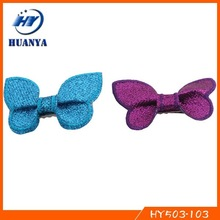 Fashion Lovely Kids Glitter Bow Baby Girl Butterfly Hair Clip
