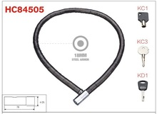 Security Armoured cable lock,Scooter lock, motor bike Accessories China