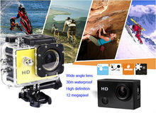 HD 1080P Wifi Action Camera SJ4000 Diving 30M Waterproof Extreme Cam G-Senor Sport DV Helmet Camera Sports Camera Sj4000