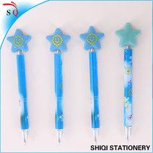 Customer logo star ball pen for gift