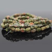 Wholesale Natural Gemstone Unakite Stone Beads Nuggets