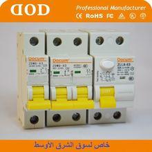 CE Household High Quality C Curve 3 Poles 4KA AC 50A MCB 25 amp 3p hot sale mcb circuit breaker