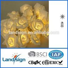 Solar Rose with Light Garden Stake Better Homes and Gardens XLTD127