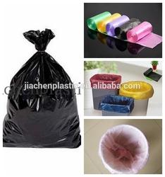 Plastic Color Garbage Bag On Roll Garbage Bags