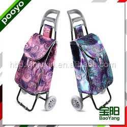 steel luggage cart fashionable travel bags tarpaulin material