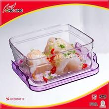 580ml BPA free TRITAN plastic food transport container