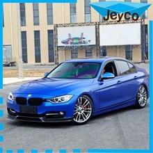 JEYCO VINYL 1.52*20m New Aurora film, blue color glossy glitter vinyl car wrap wholesale