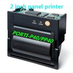 woosim 58mm mini built in thermal mount panel printer PORTI-P40/PP40