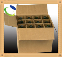 Item HSP72 vey cheap 6 bottle cardboard wine box for red wine or beer