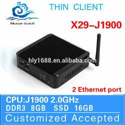 Cheap mini server industrial pc mini j1900 X29 J1900 8g ram 16g ssd Support Light pen,Mouse