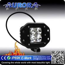 2 inch 4LED spot work light 4x4 led driving light bar