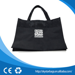 2015 hot selling waxed canvas shopping bag for promotion or shopping