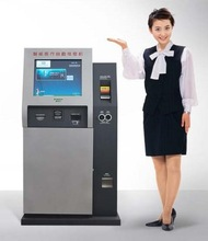 Self service Dual Touch Screen for Payment Kiosk System