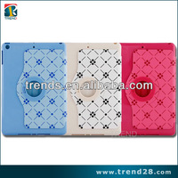 xundd pu stand case for apple ipad air, for ipad air pu leather printing case