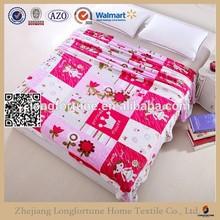 100 polyester fleece blanket indian bedding set DKW092