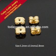 5.2mmx3.5mmx2.8mm chinese bulk wholesale fashion Eardrop Backs Eardrop Findings Eardrop Stoppers