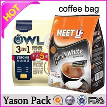 Yason micro-perforated bag aluminum foil heat seal bags cut in piece or roll blue soiled linens bags