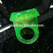 Soft Flicker Blinking Ring light, led glow ring light for kids for party