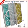 Mercado perfecto aire acondicionado automático del filtro de aire/filtro de aire hvac( fabricación)