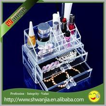 Transparent Plexiglass Makeup Organizer,Clear Acrylic Jewelry Drawer,Plastic Jewelry Display Drawer