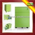 china fabricante de acero del gabinete de presentación y bóveda con 3 cajones
