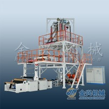 5 layer co-extrusion up blowing film making machine