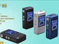 Kamry 60 dc12v mod caixa de e- cigarro bateria, 60w mod recarregável vaporizador com oled display digital