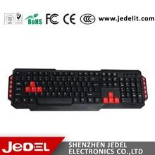 Shenzhen manufacturer Cheap Computer Keyboard with Multimedia Keys
