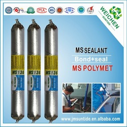factory making high quality MS polymer adhesive waterproof sealant for car