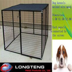 china dog kennel/welded modular dog kennels for sale/alibaba china large dog kennels