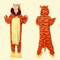 Hot style cartoon tiger costumes lovely tigger design adults good choice for carnival performance or cosplay dress wholesale
