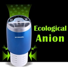 Europe standard Car Air Purifier Freshen and Ionizer for car air refresher