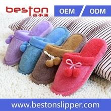 Best selling super warm winter indoor velvet slipper