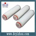 Ptfe plisado de membrana de filtro de cartucho con calificación 0.5um