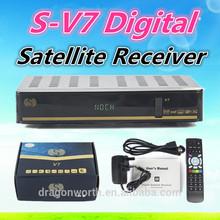 2015 newest S V7,S-V7, Digital Satellite Receiver, WEB TV, HD Receiver